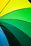 Colorful Umbrella Detail Royalty Free Stock Image