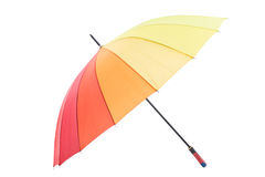 Colorful umbrella isolated Royalty Free Stock Image