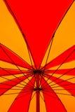 Colorful umbrella pattern. Bright color big umbrella pattern Royalty Free Stock Image