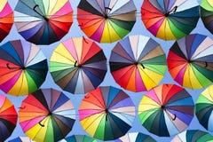 Colorful umbrella Stock Image