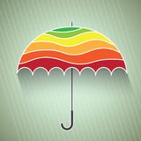 Colorful umbrella vector illustration. This is file of EPS10 format Stock Photo