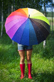 Colorful umbrella Royalty Free Stock Photos