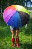 Colorful umbrella Royalty Free Stock Photos