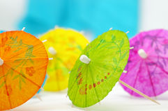 Colorful Umbrellas Stock Photos
