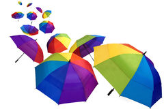 Colorful umbrellas Stock Photo