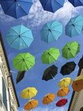 Colorful umbrellas Royalty Free Stock Photos