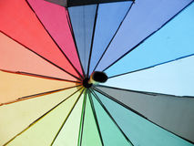 Colorful umbrellas Royalty Free Stock Photography