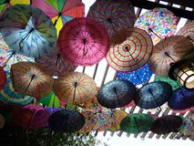 Colorful umbrellas Royalty Free Stock Photo
