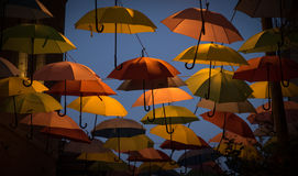 Colorful umbrellas Royalty Free Stock Images