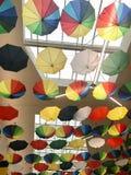 Umbrella at the Mall Stock Photography