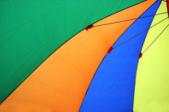 Colorful umbrellas tents Stock Photo