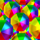 Colorful umbrellas Royalty Free Stock Image