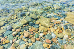 Colorful Underwater Stones Royalty Free Stock Image