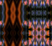 Colorful and lights painting kaleidoscope pattern royalty free illustration