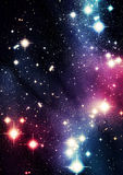 Colorful universe Royalty Free Stock Image