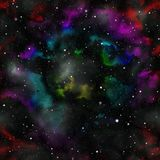 Colorful universe texture background Stock Photography