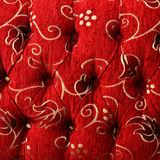 Colorful upholstery fabric texture Royalty Free Stock Photography