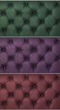 Colorful upholstery patterns Royalty Free Stock Images