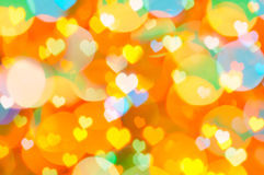 Colorful Valentine background Stock Photography