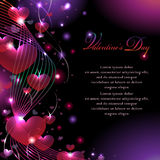 Colorful Valentine's Background Royalty Free Stock Photo
