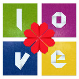 Colorful Valentine's day composition Royalty Free Stock Photography