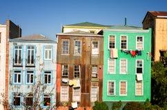 Colorful Valparaiso House Stock Photo