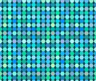 Colorful varied hexagon vector seamless pattern Royalty Free Stock Photography