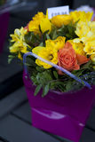Colorful variety of flowers Stock Photos