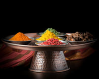 Colorful Variety of Spices Royalty Free Stock Photo