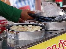 Colorful and variety of street food Royalty Free Stock Photography