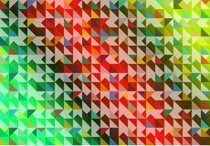 The colorful of various dimension background Stock Photos