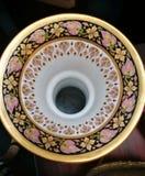 Colorful vase hole Royalty Free Stock Photo