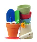 Colorful vases Royalty Free Stock Photo