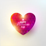 Colorful vector abstract heart Royalty Free Stock Images