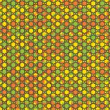 Funky mosaic pattern royalty free illustration