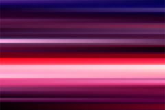 Colorful vector abstract speed motion blur of night lights in th. E city long exposure background Royalty Free Illustration