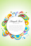 Colorful vector background Royalty Free Stock Photos
