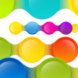 Colorful Vector Background. Abstract Colorful Shapes Vector Background Royalty Free Stock Image