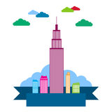 City Theme Background Royalty Free Stock Images