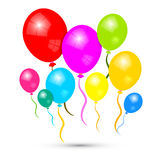 Colorful Vector Balloons Stock Images