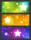 Colorful vector banners Royalty Free Stock Photography