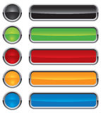 Colorful vector buttons  Stock Image