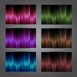 Colorful vector cards set Royalty Free Stock Photography