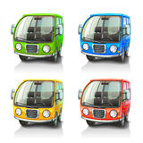 Colorful vector cars Royalty Free Stock Image