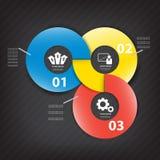 Colorful vector design Stock Photos