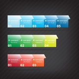 Colorful vector design Stock Photography