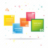 Colorful vector design Royalty Free Stock Photo