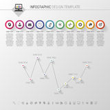 Colorful vector design for workflow layout. Modern diagram. Infographics Stock Photo