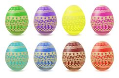 Colorful Vector Easter Egg Stock Images