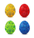 Colorful Vector Easter Egg Stock Photo